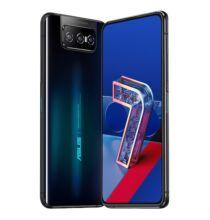 EU ECO Raktár - ASUS Zenfone 7 (ZS670KS ASUS_I002D) 6.67 inch 5G Okostelefon NFC Globális verzió Snapdragon 865, 2.84GHz, 64MP + 12MP + 8MP - Fekete 8GB RAM + 128GB ROM