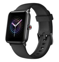 EU ECO Raktár - Ulefone Watch Pro Smart Watch 1.55 inch Vezetéknélküli Sporttevékenységmérő Okos Karkötő - Fekete