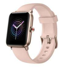 EU ECO Raktár - Ulefone Watch Pro Smart Watch 1.55 inch Vezetéknélküli Sporttevékenységmérő Okos Karkötő - Rózsaszín