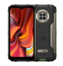 EU ECO Raktár - DOOGEE S96 Pro 4G Okostelefon IP68 IP69K 8GB 128GB Helio G90 NFC Android 10 6350mAh 6.22 inch 48MP Round Quad Camera 20MP Infrared Night Vision - Zöld