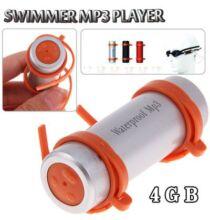 Deluxe Swimmer MP3 lejátszó 4GB Vízálló - Ezüst