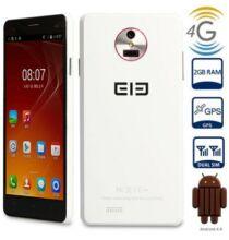 """EU ECO Raktár - Elephone P3000s 5.0"""" HD IPS Android 4.4 MTK6592 2GB RAM Ujjlenyomat-azonosító NFC 4G Phablet - Fehér"""