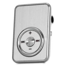 Extra mini MP3 lejtászó SD kártyahellyel és övcsipesszel - Fehér