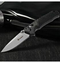 GANZO G716 rozsdamentes acél pengéjű összecsukható zsebkés - Fekete