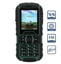 EU ECO Raktár - Huadoo H1 2.0 IPS MTK6261A Nucleus OS strapabíró mobiltelefon - Katonai zöld