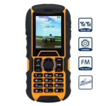 Huadoo H1 2.0 IPS MTK6261A Nucleus OS strapabíró mobiltelefon - Sárga