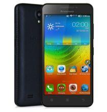 """EU ECO Raktár - Lenovo A3600D 4.5"""" FWVGA Android 4.4 MTK6582 3G Okostelefon - Fekete"""