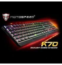 MotoSpeed K70 Gaming Billentyűzet profi játékosoknak színes háttérvilágítással USB - fekete