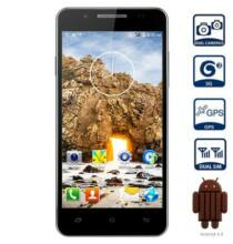 "Mpie MP158+ 5.0"" qHD Android 4.4 MTK6582 3G Okostelefon - Fekete"