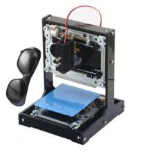 NEJE DK-5 Pro 500mW USB DIY lézer gravírozó gép - Kék és fekete