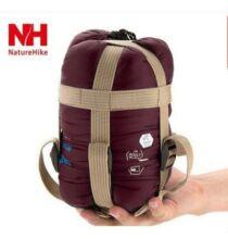 NatureHike 1.9m Hálózsák 360D Nylon - Borvörös