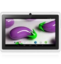 "Q88H 7"" WVGA Android 4.4 Négymagos Bluetooth Tablet - Fehér"