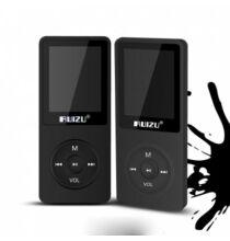 "RUIZU X02 1.8"" 8GB HiFi  MP3 lejátszó SD kártya - Fekete"
