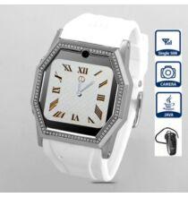 """TW520D 1.5"""" Bluetooth karóratelefon - Fehér"""