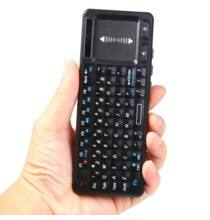 UKB-106 Többfunkciós Mini Bluetooth QWERTY Billentyűzet Egér touchpaddel