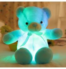 50cm LED Plüss Teddy Maci - Kék