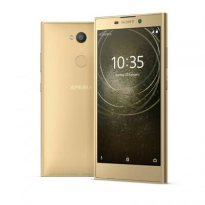 EU ECO Raktár - Sony Xperia L2 4G Okostelefon MTK6737T 3GB RAM 32GB ROM - Arany