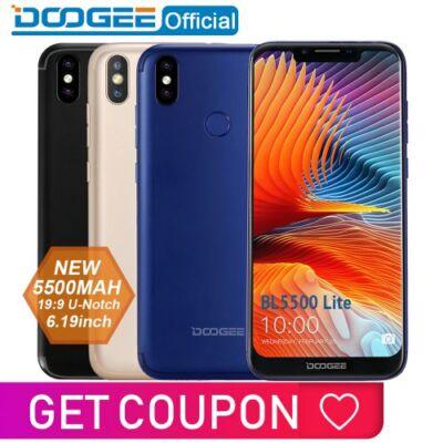 DOOGEE BL5500 Lite 4G Okostelefon - 2GB 6GB