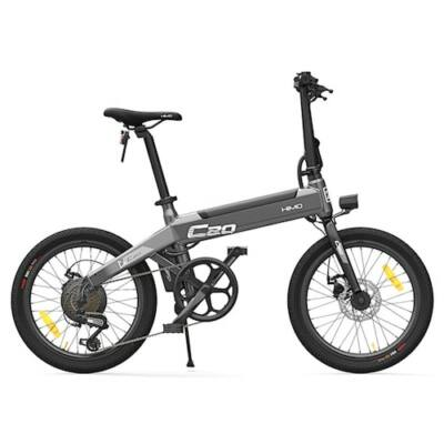 EU ECO Raktár - Xiaomi HIMO C20 10AH 36V Elektromos E-Bike Kerékpár - Fekete