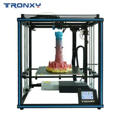 EU ECO Raktár - Tronxy X5SA-400 24V DIY 3D Nyomtató Prusa I3 3D - Fekete