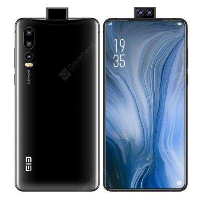 EU ECO Raktár - ELEPHONE U2 4G okostelefon 6.26 inch Android 9.0 4GB RAM 64GB ROM Built-in 3250mAh Akkumulátor - Fekete