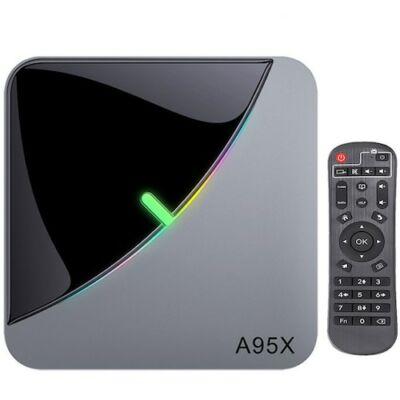 EU ECO Raktár - A95X F3 AIR TV Box S905X3 TV Box Android 9.0 Cortex-A55 1.7GHz 2.4G/5G WIFI - 4GB RAM 32GB ROM