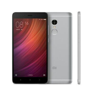 Xiaomi Red,o Note 4 3GB RAM 64GB ROM Dual SIM 5.5 inches Android 6.0 Octa-core 2.0 GHz 4100mAh Okostelefon - Szürke