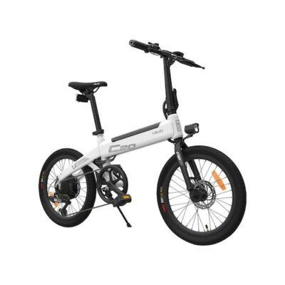 EU ECO Raktár - HIMO C20 20 Inch 36V  80KM Hatótávval Rendelkező Elektromos E-Bike Kerékpár - Fehér