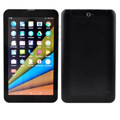 EU ECO Raktár - MTK 8321 Quad Core 1GB RAM 8GB ROM Android 6.0 OS 9 Inch 3G okostelefon - Fekete
