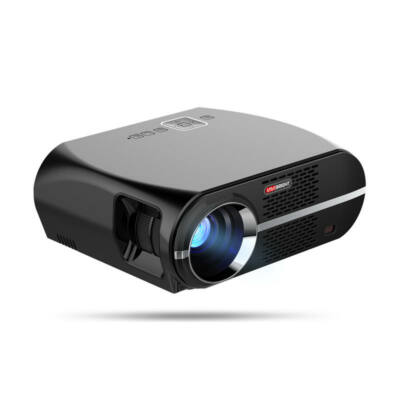 EU ECO Raktár -Vivibright GP100UP Intelligens LCD LED projektor 3500 lumen 1280x800 pixeles LED projektor Android 6.01 - Fekete