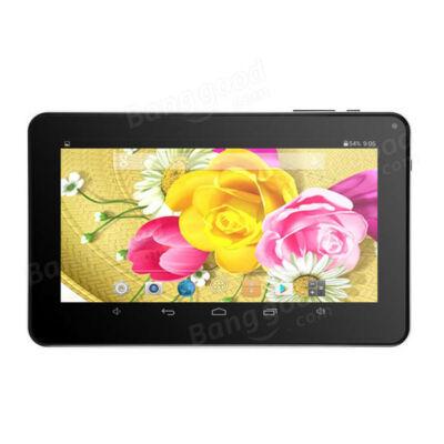 EU ECO Raktár - T3 A33 Quad Core 512MB RAM 8GB ROM Android 4.2 Tablet PC - Fekete