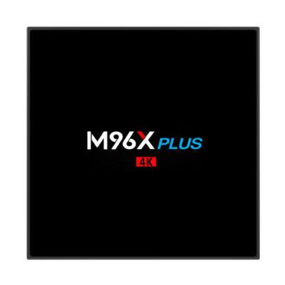 EU ECO Raktár - M96X PLUS Amlogic S912 2GB RAM 16GB ROM Android 7.1 5.0G WIFI 1000M LAN bluetooth 4.0 TV Box - Fekete
