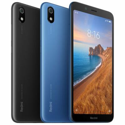 EU ECO Raktár - Xiaomi Redmi 7A 5.45 inch 4000mAh 2GB RAM 32GB ROM Snapdragon 439 Octa core 4G Okostelefon - Fekete