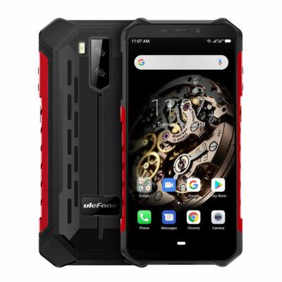 Ulefone Armor X5 5.5 Inch NFC IP68 IP69K Vízálló 3GB RAM 32GB ROM 5000mAh MT6762 Octa core 4G Okostelefon