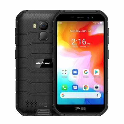 Ulefone Armor X7 5,0 hüvelykes NFC IP68 IP69K vízálló Android 10 2GB RAM 16GB ROM MT6761 Quad Core 4G okostelefon