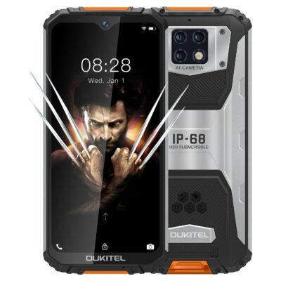 OUKITEL WP6 Globális verzió 6.3 inch FHD+ IP68 Waterproof 10000mAh 48MP Triple előlapi Camera 6GB 128GB Helio P70 4G Smartphone
