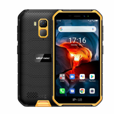 Ulefone Armor X7 Pro 5.0 inch NFC IP68 IP69K Vízálló Android 10 4GB RAM 32GB ROM MT6761 Quad Core 4G Okostelefon