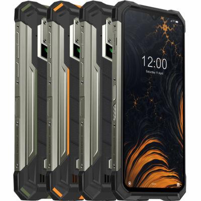 EU ECO Raktár - DOOGEE S88 Pro Globális verzió 6.3 inch FHD+ IP68/IP69K Vízálló NFC 10000mAh Android 10 6GB RAM 128GB ROM Helio P70 4G Smartphone - Fekete