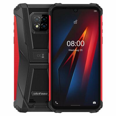 EU ECO Raktár - Ulefone Armor 8 IP68 IP69K Vízálló 6.1 inch 4GB RAM 64GB ROM 16MP Triple előlapi Camera NFC 5580mAh Helio P60 Octa Core 4G Rugged Okostelefon - Narancs