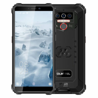 OUKITEL WP5 5.5 inch IP68 Vízálló 8000mAh Android 10 13MP Triple Camera 4GB RAM 32GB ROM MT6761 4G Okostelefon