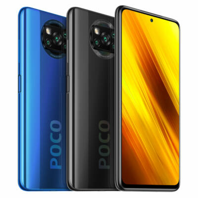 POCO X3 NFC Globális verzió Snapdragon 732G 6GB RAM 64GB ROM 6.67 inch 120Hz 64MP Quad Camera 5160mAh Octa Core 4G Okostelefon