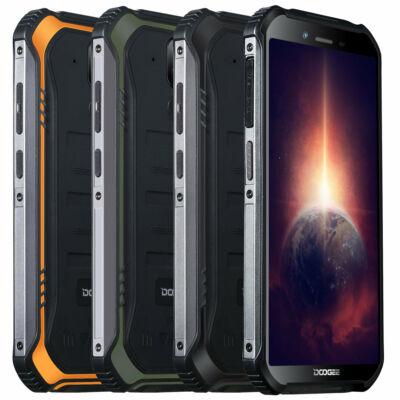 DOOGEE S40 Pro 5.45 inch IP68/IP69K Vízálló NFC Android 10.0 4650mAh 13MP Dual előlapi Camera 4GB RAM 64GB ROM Helio A25 4G Okostelefon