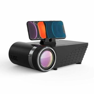EU ECO Raktár - BlitzWolf® BW-VP8 WIFI Projector 5500Lumens LCD LED Projektor - Fekete