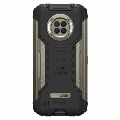 DOOGEE S96 Pro IP68 IPIP69K Vízálló 8GB RAM 128GB ROM Helio G90 NFC Android 10 6350mAh 6.22 inch 48MP Round Quad Camera 20MP Infrared Night Vision 4G Okostelefon