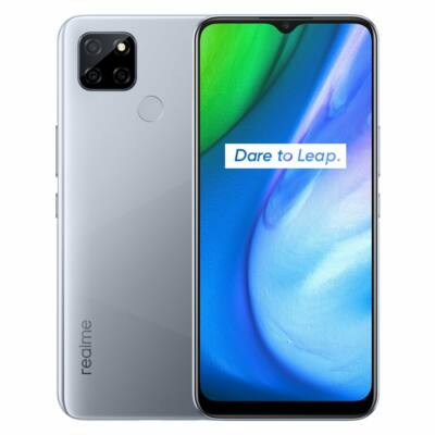 Realme V3 5G 6.5 inch 5000mAh 18W Gyorstöltés Android 10 6GB RAM 64GB ROM Dimensity 720 13MP Kamera Octa Core Okostelefon