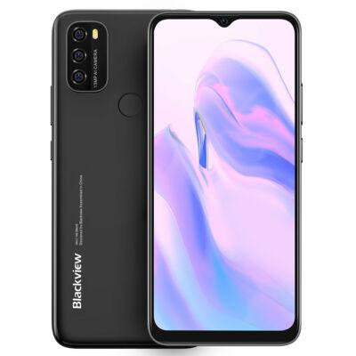 Blackview A70 6.517 inch HD+ Android 11 5380mAh 3GB RAM 32GB ROM SC9863A Octa Core 4G Okostelefon