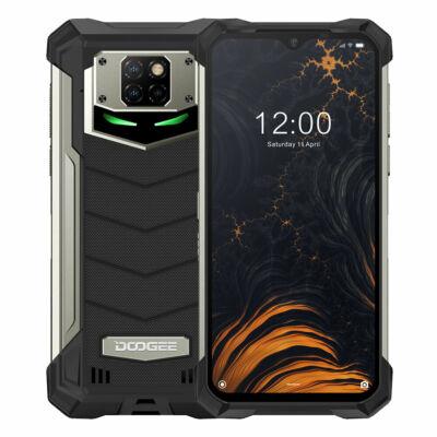 DOOGEE S88 Plus IP68 Vízálló 6.3 inch FHD+ NFC 10000mAh Android 10 48MP AI Triple Camera 8GB RAM 128GB ROM Helio P70 Octa Core 4G Okostelefon