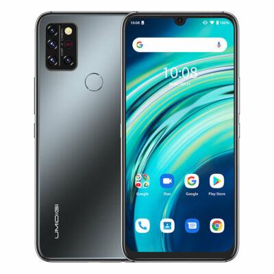 UMIDIGI A9 Pro 6.3 inch FHD+ Infravörös Hőmérővel Ellátott 8GB RAM 128GB ROM Helio P60 Android 11 4150mAh 48MP AI Matrix Quad Camera 4G Okostelefon
