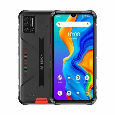 UMIDIGI BISON IP68 IP69K Vízálló NFC Android 11 5000mAh 8GB RAM 128GB ROM Helio P60 6.3 inch FHD+ 48MP Quad előlapi Kamera 4G Okostelefon