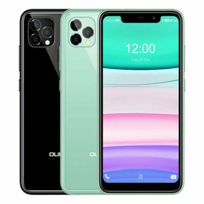 OUKITEL C22 5.86 inch HD+ U-notch Display Android 10 4GB RAM 128GB ROM MT6761V 4000mAh 13MP 4G Okostelefon